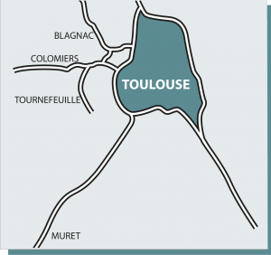 Toulouse Blagnac Colomiers Tournefeuille